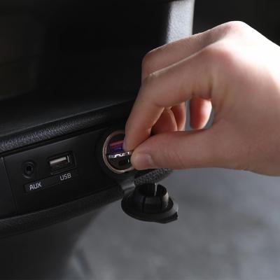 [무아스] 초미니 듀얼 시거잭 차량용 고속 충전기