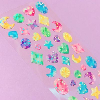 트윙클 Gemstones 칼선 스티커