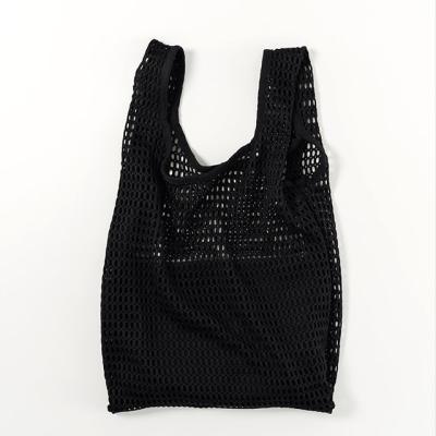 [바쿠백] 메쉬백 여름 그물가방 + 파우치 Black