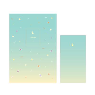 1000 편지지-우주패턴(민트)