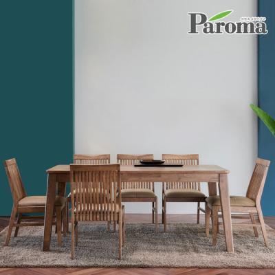 파로마 우든 6인용 원목 식탁세트 의자형 CR14