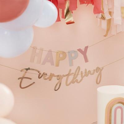 [빛나파티]보헤미안 파스텔 Happy Everything 가랜드