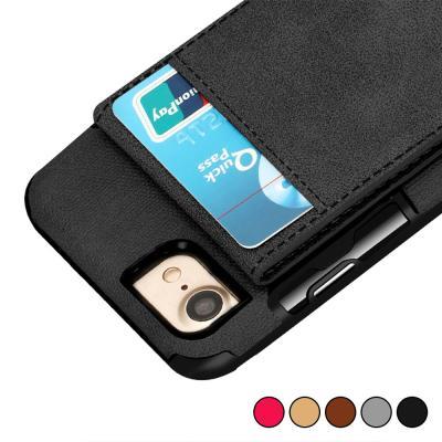 P152 아이폰6S플러스 심플 지갑 범퍼 가죽 케이스