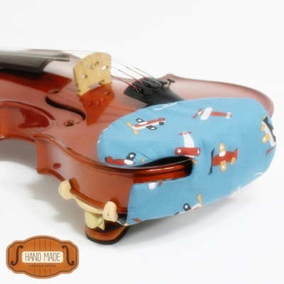 핸드메이드 바이올린 비올라 턱받침 커버