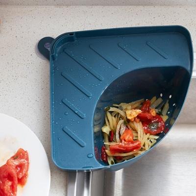[물기쫙] 싱크대 모서리 음식물 쓰레기통 4color