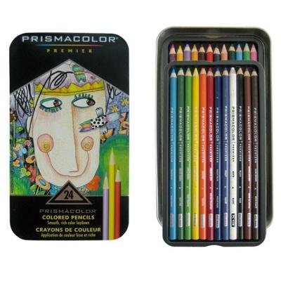 프리즈마 유성색연필 24색