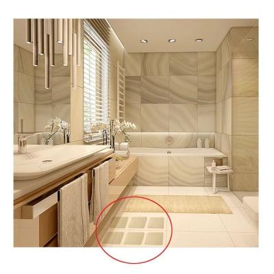 욕실 미끄럼방지 스티커 100x100 4매
