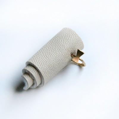 10k gold ribbon ring earring
