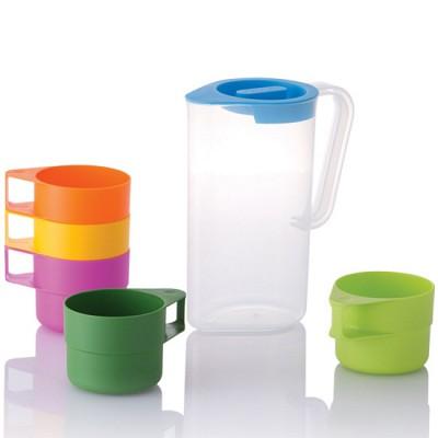 네오플램 드롭렛 피크닉 물컵세트 (물병1+컵5)
