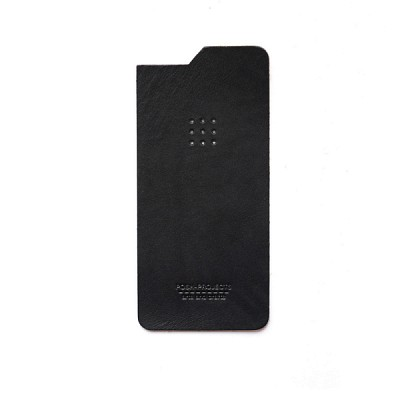 504 아이폰6 & 6플러스 가죽스킨 (black)