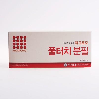 하고로모 분필 - 탄산 빨강 1박스 18통 (1,296本)