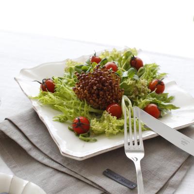 벨류 세라믹 - 정사각 접시
