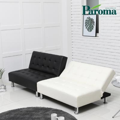 파로마 샤비 1인용 인조가죽 소파베드 LT01