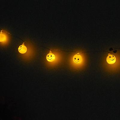 스마일 가랜드 LED 전구