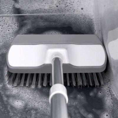 [ABC생활]2 in 1 다용도 브러쉬 밀대 솔 욕실 청소