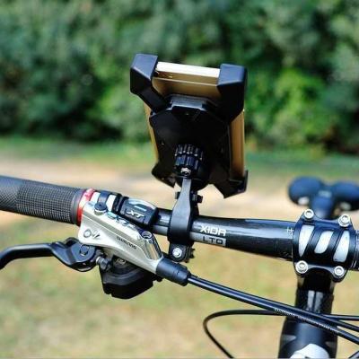 360회전볼 자전거 스마트폰거치대(블루) 바이크거치대