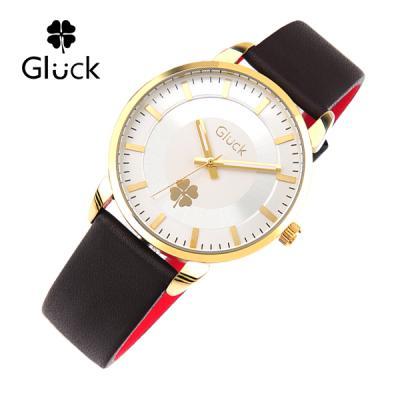 [Gluck] 글륵 행운의 시계 GL2302-GW 본사정품 여성용