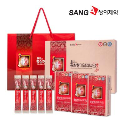 상아제약 홍삼정 데일리타임 10ml X 30포 + 쇼핑백