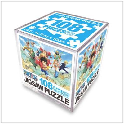 원피스 직소퍼즐 미니 Cube 108pcs: 세계를 향하여