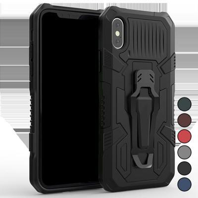 P028 아이폰6S플러스 아머 스트롱 클립 하드 케이스
