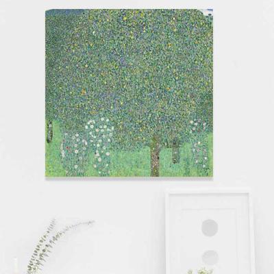 주문제작 액자 Gustav Klimt Rosiers sous les arbres