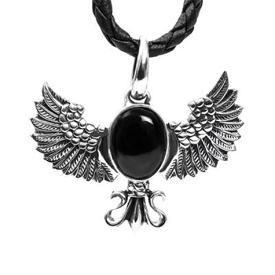 [SWPS-003] 날개 원석 실버펜던트