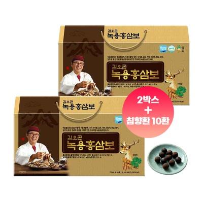 김오곤 녹용홍삼보 국내산 6년근 60포