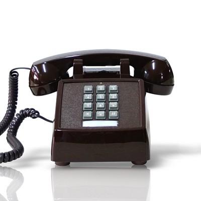 [코텔코] 코텔코 빈티지 데스크 유선전화기 브라운