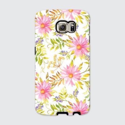 [듀얼케이스] Floral Leaf-A (갤럭시)