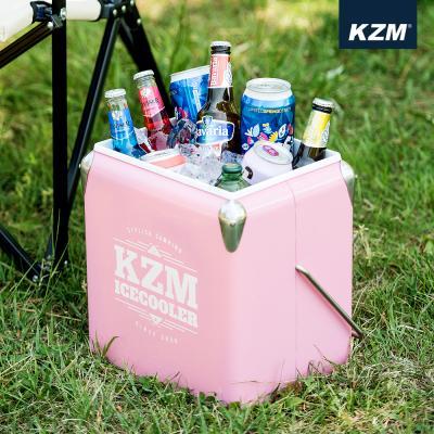 [카즈미] 큐브 아이스쿨러 13L (핑크) K7T3A016PK