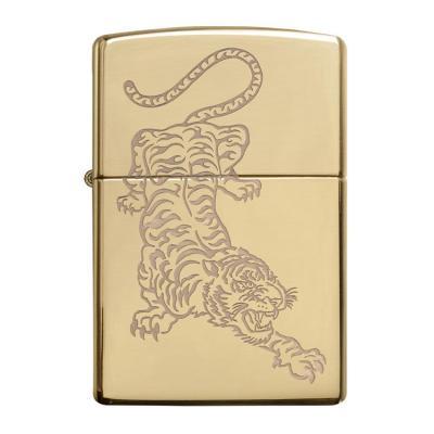 ZIPPO 라이터 29884 Tiger Design
