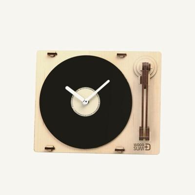 [우드썸] 턴테이블 시계