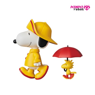 UDF PEANUTS SERIES7 RAINCOAT SNOPY &WOODSTOCK(1803005)