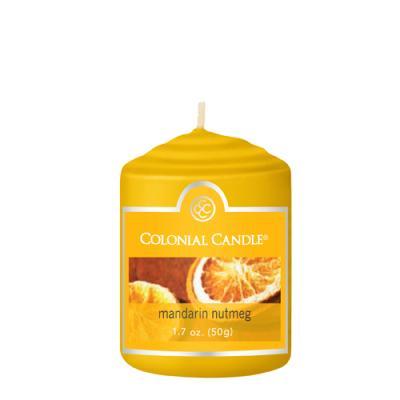 COLONIAL CANDLE 2848 보티브 캔들 1.7oz 밀감 넛매그