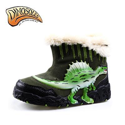 [다이노솔즈] 3D 스피노사우루스 윈터 어그부츠 공룡