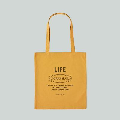LIFE JOURNAL SHOULDER BAG_MUSTARD