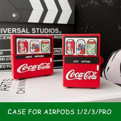 에어팟 프로/2/1 탄산음료 자판기 캐릭터 사각 케이스