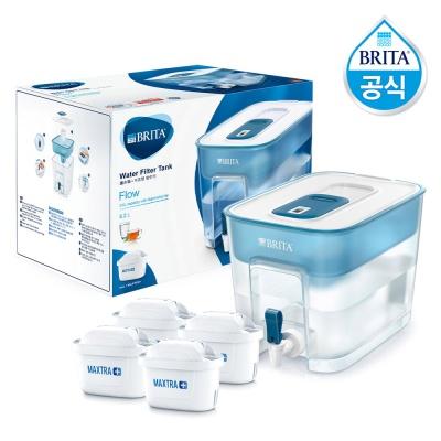 브리타 플로우 8.2L 블루+필터4개월(기본필터 포함)