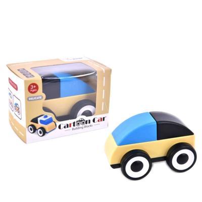 맥킨더 유아용 미니 카툰카 소형 자동차 장난감(블루)
