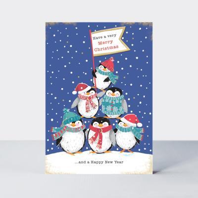 [빛나파티]펭퀸탑 크리스마스 카드