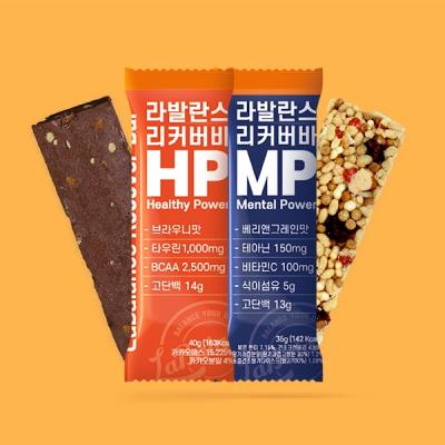 단백질 프로틴 에너지 리커버 바 MP HP 세트 라발란스