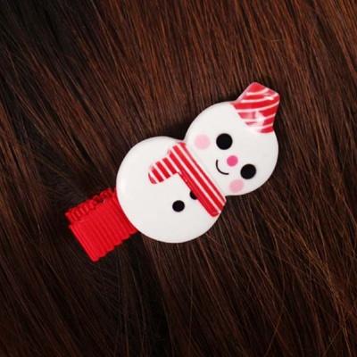 크리스마스머리핀-눈사람
