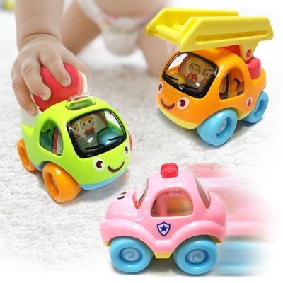 데코앤 8P 세트 베이비 꼬마자동차 미니카
