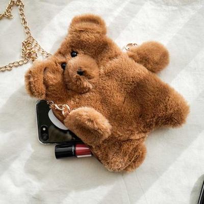 곰돌이 미니 보조가방 / 파우치