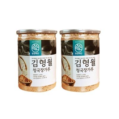 김명월 흰콩 청국장 가루세트 500g 2통
