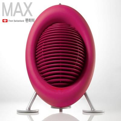 스테들러폼 팬히터 MAX(맥스) M-019/공기순환 및 온풍기능/검투구를 연상시키는 디자인