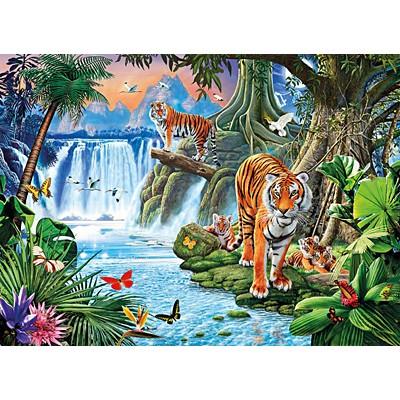 직소퍼즐 [3000조각] - 정글의 호랑이 가족(cl33543)