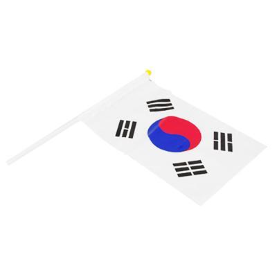 비닐 태극기 낱개 ( 30cm X 20cm / 깃대포함)