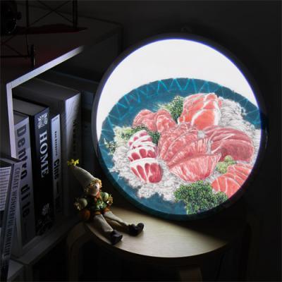 ne855-LED액자35R_내가좋아하는회와초밥