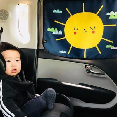헬로미니미 차량용 햇빛가리개 햇님